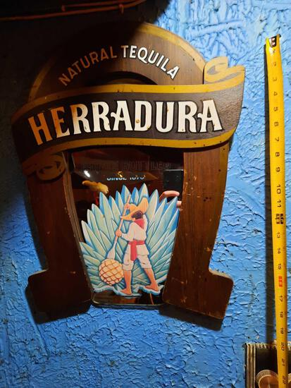 Herradura Natural Tequila Sign