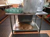 Stainless Steel Prep Table 3ft Tall