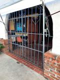 Wrought Iron Gate, 7ft Tall, 8ft Wide