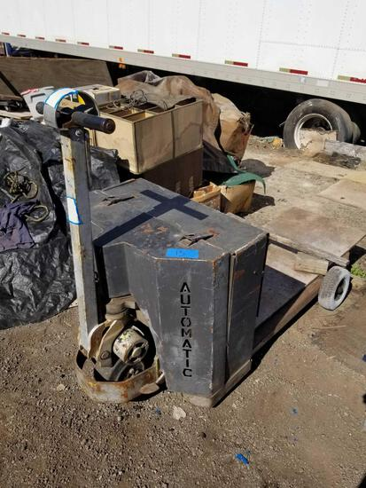 Automatic Electric Pallet Jack For parts non working