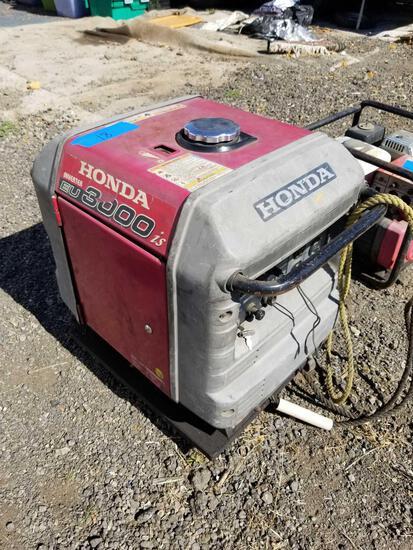 Honda EU 3000is Power Inverter 120v ac dc 12v 12a