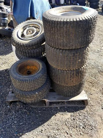 Pallet of Small Tires