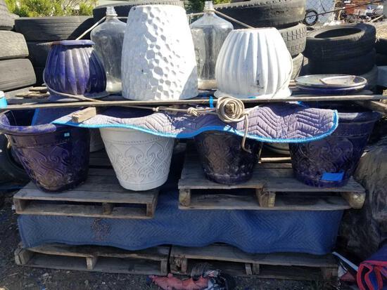 Decorative Terra Cotta Planter Pots