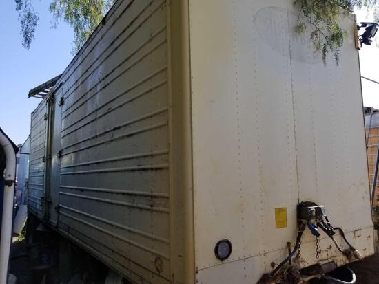 1976 Utility Trailer 27 Foot Full of Contents