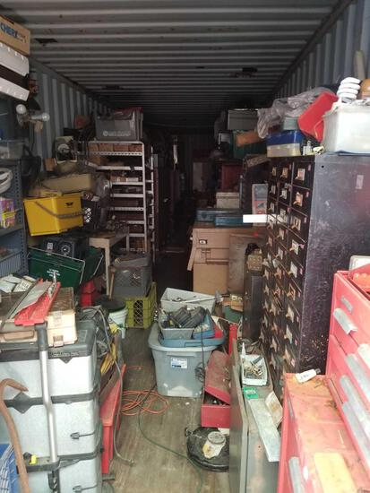 40 Foot Shipping Container and all contents - Tools