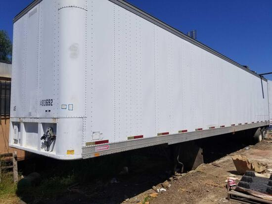 45 Foot Tractor Trailer with Contents Tag 4HK4191