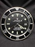 Rolex Dealer Display Electric Wall Clock