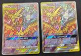 Pokemon Cards 2 Units Hidden Fates Promo Moltres Zapdos & Articuno