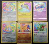 Pokemon Cards Amazing Rare 6 Units Holo