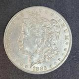 1883-O Morgan Silver Dollar Gem Brilliant Uncirculated, Better New Orleans Date, .7734 oz ASW