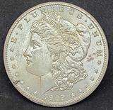 1902-O Morgan Silver Dollar Gem Brilliant Uncirculated, Better New Orleans Date, .7734oz ASW