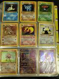 Binder of pokemon cards WOTC, holo, 1st ed, shadowless