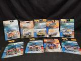 Hot Wheels Nascar Buses, Blimps, Helicopter & Cars & Truck