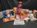 Ty Beanie Babies Small McDonald's Bears, Winnie the Pooh, Dale Earnhardt Jr. International bears