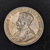 1936 Canada Silver Dollar King George Extra Fine