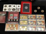 Modern Type Coin Estate Lot With Silver & Many Dollar Coins - Huge Collectors Deal