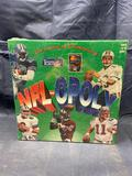 NFL-OPOLY Football Monopoly Board Game New in Box Sealed NIB