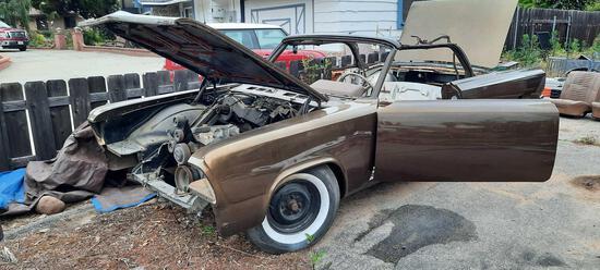1963 Oldsmobile Cutlass Convertible Project