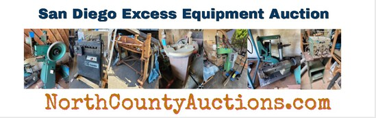 2021 May San Diego Power Equipment Auction