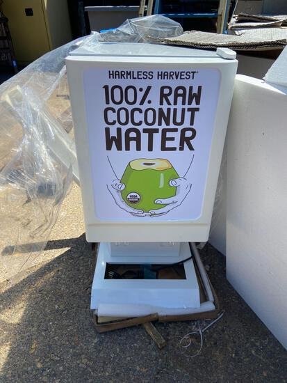 Pre-mix beverage dispensing equipment 1 unit Harmless Harvest looks NIB