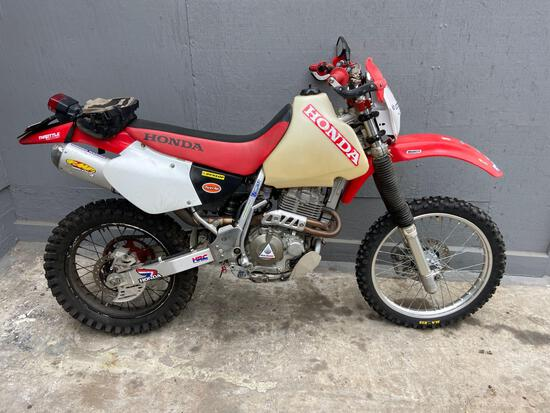 2002 Honda XR400R Motorcycle, VIN # JH2NE03162K701751
