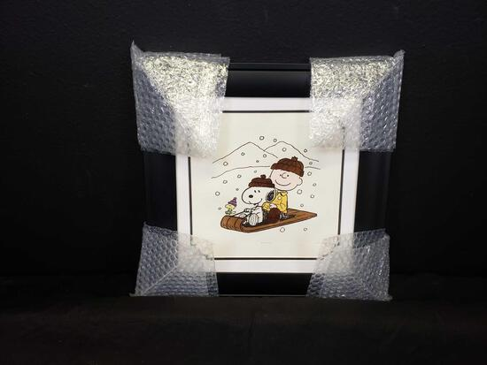 2006 Charlie and Snoopy's Ride Animation Art w COA & Appraisal Signed