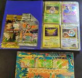 Pokemon cards in Mini binder and sealed Promo cards holo WOTC