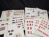 Rare US Stamp Collection President's Places different denominations