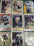 Binder of football cards 80- early 2000