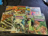 DC comic book's 9 comics