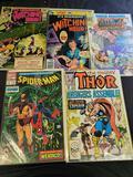 Comic books marvel & Dc comics 5 books
