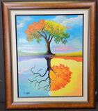 'New Things Are Coming' Signed David Najar Giclee Signed Framed Numbered Artwork 389/450 w/ CoA