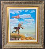 Michael Chavel 'Dream Catcher' Signed Framed Sculptograph Artwork