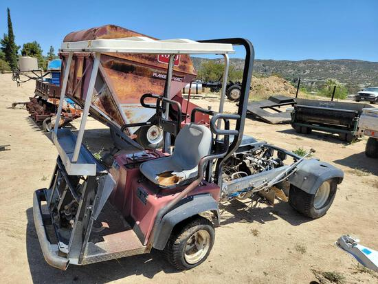 Workman 3100 Construction Cart sold for parts only