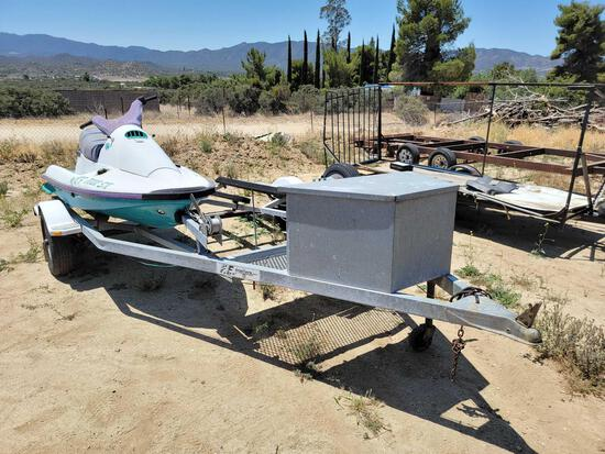 15ft Dual Jet Ski Trailer sold for parts only