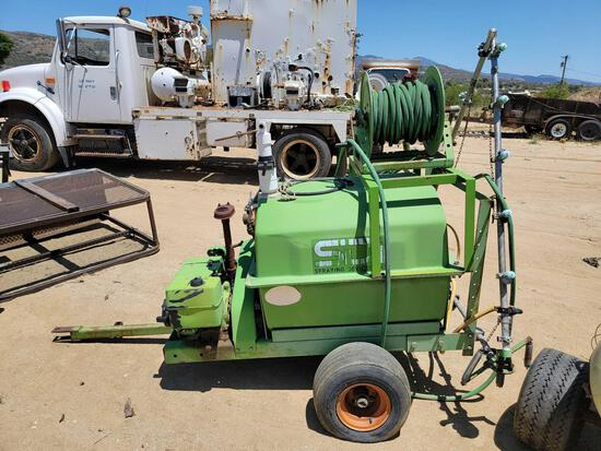 SDI Tow Behind Sprayer Machine Model 100D14-5K sold for parts only