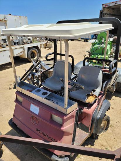 Workman 3100 Construction Cart 6332 Hours sold for parts only