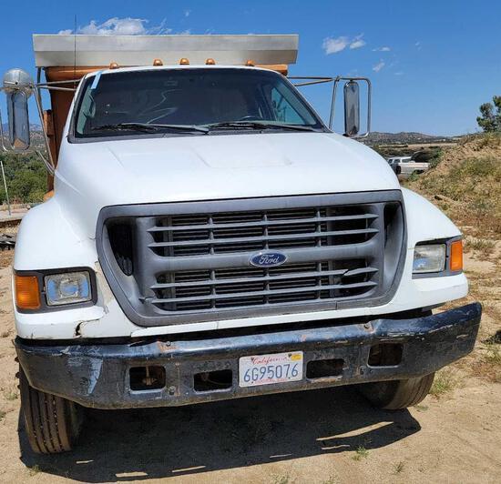 2000 Ford F-650 Truck, VIN # 3FDNF6520YMA09352