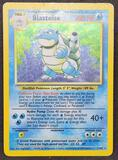Pokemon card base set Holo Blastoise WOTC