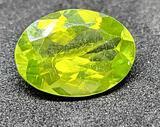Yellowish green oval cut Peridot 2.30ct gemstone
