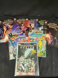 Comic books 8 book's