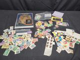Vintage to now stamps. Uncirculated and circulated