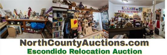 Escondido Relocation Estate Auction