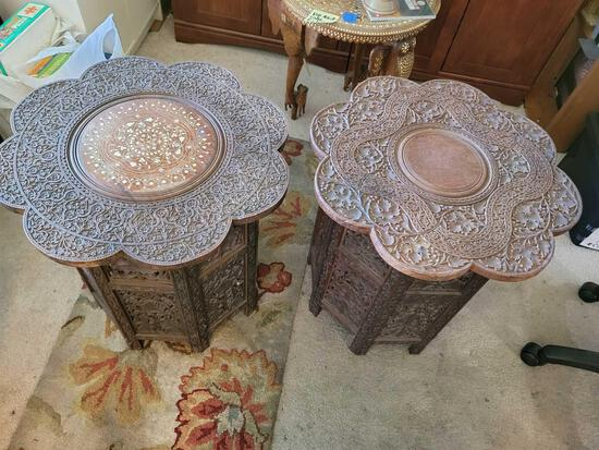 Indian styles tables