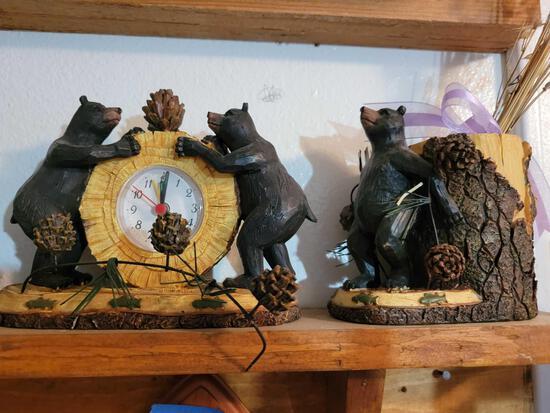 Bear figurine lot