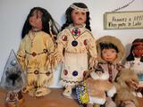 Beautiful Porcelain Indian dolls
