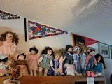 Beautiful collection of Porcelain Dolls Pennants