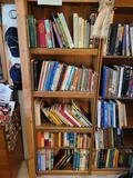 Bookshelf w language books