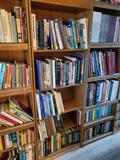 Bookshelf w cultural books