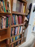 Bookshelf w books